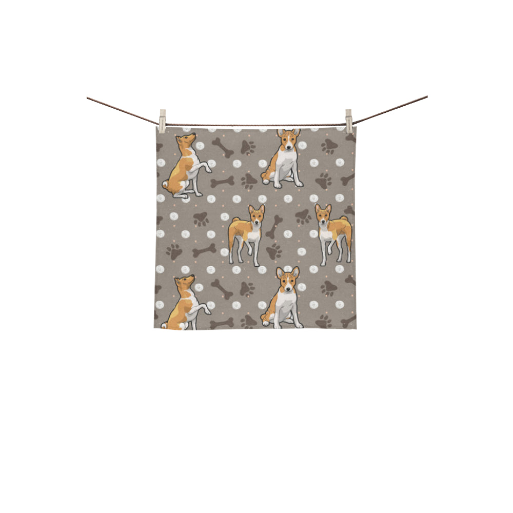 Basenji Square Towel 13x13 - TeeAmazing