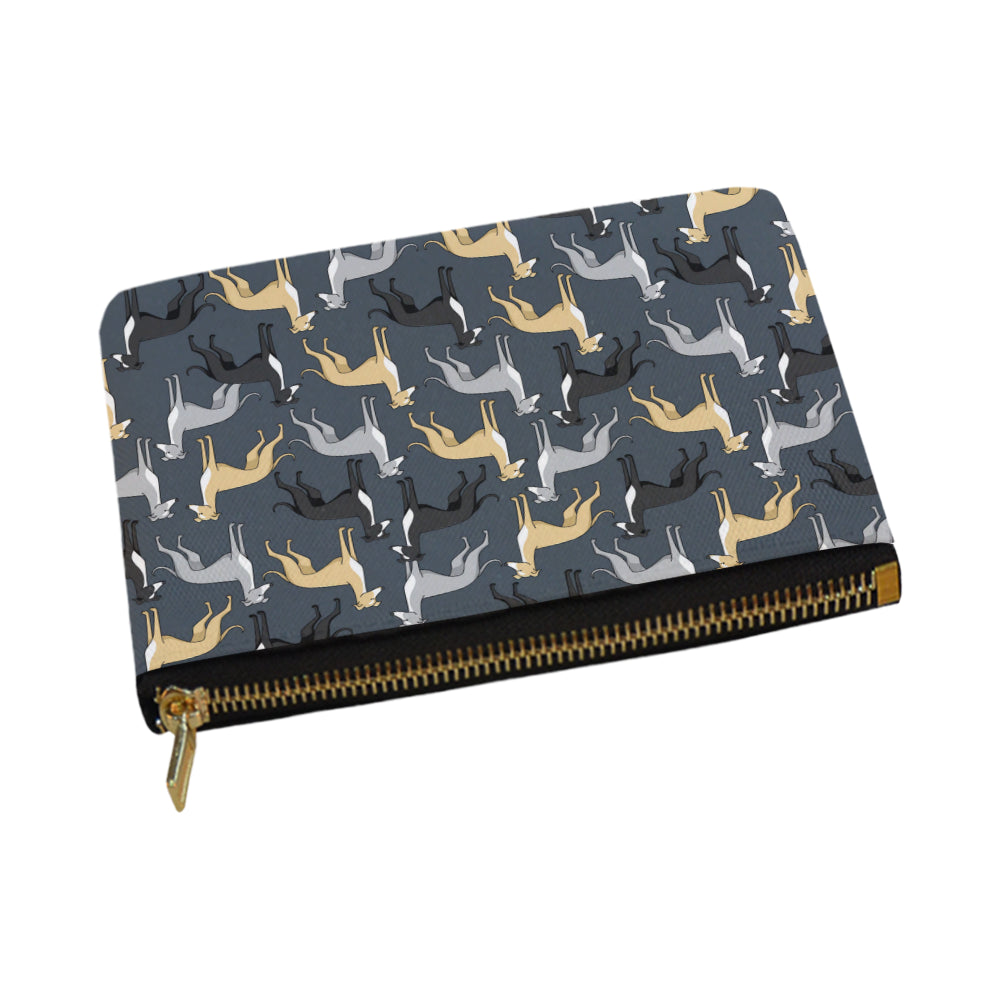 Greyhound Carry-All Pouch 12.5x8.5 - TeeAmazing