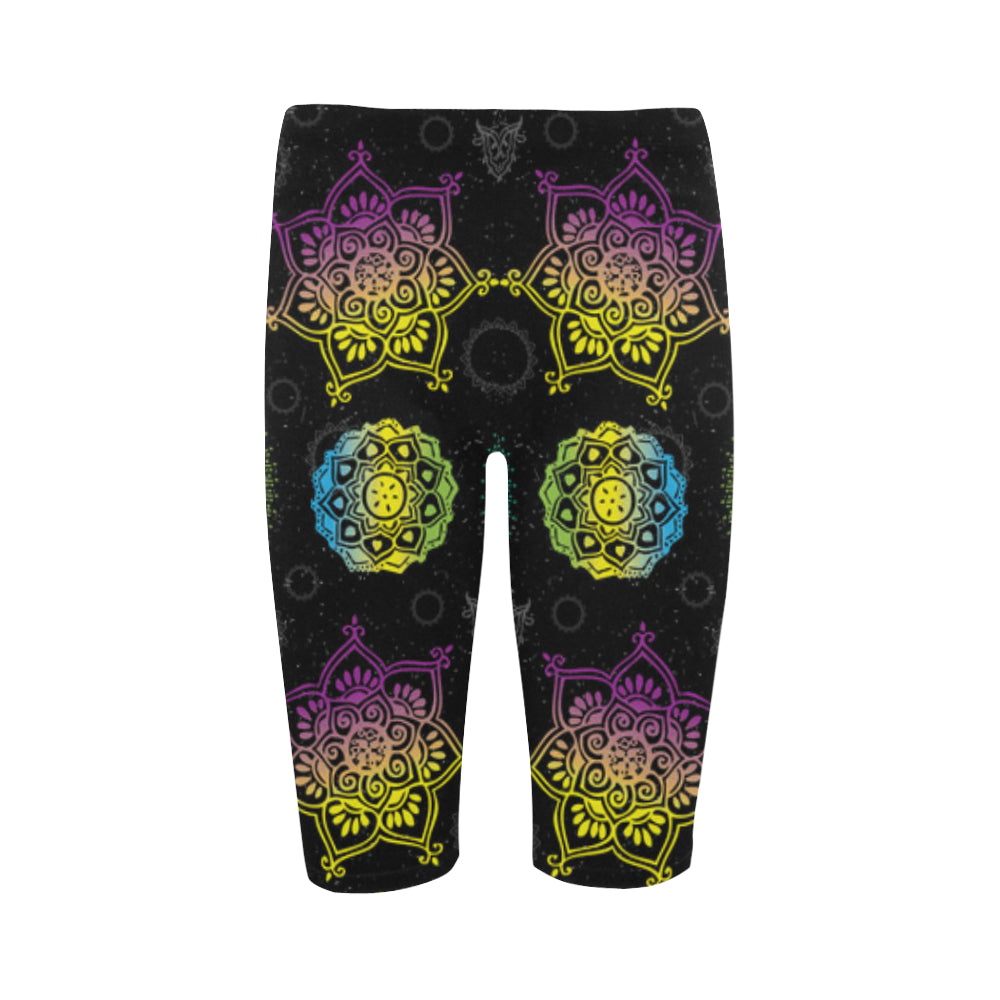 Chakra Hestia Cropped Leggings - TeeAmazing