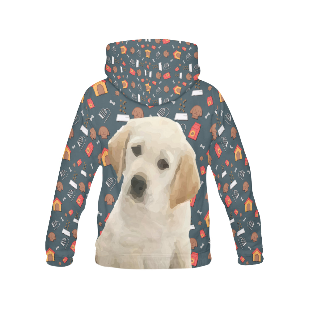Goldador Dog All Over Print Hoodie for Women - TeeAmazing