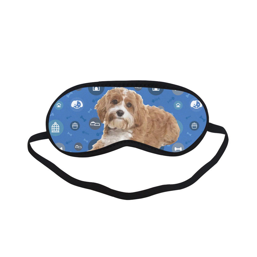Cavapoo Dog Sleeping Mask - TeeAmazing