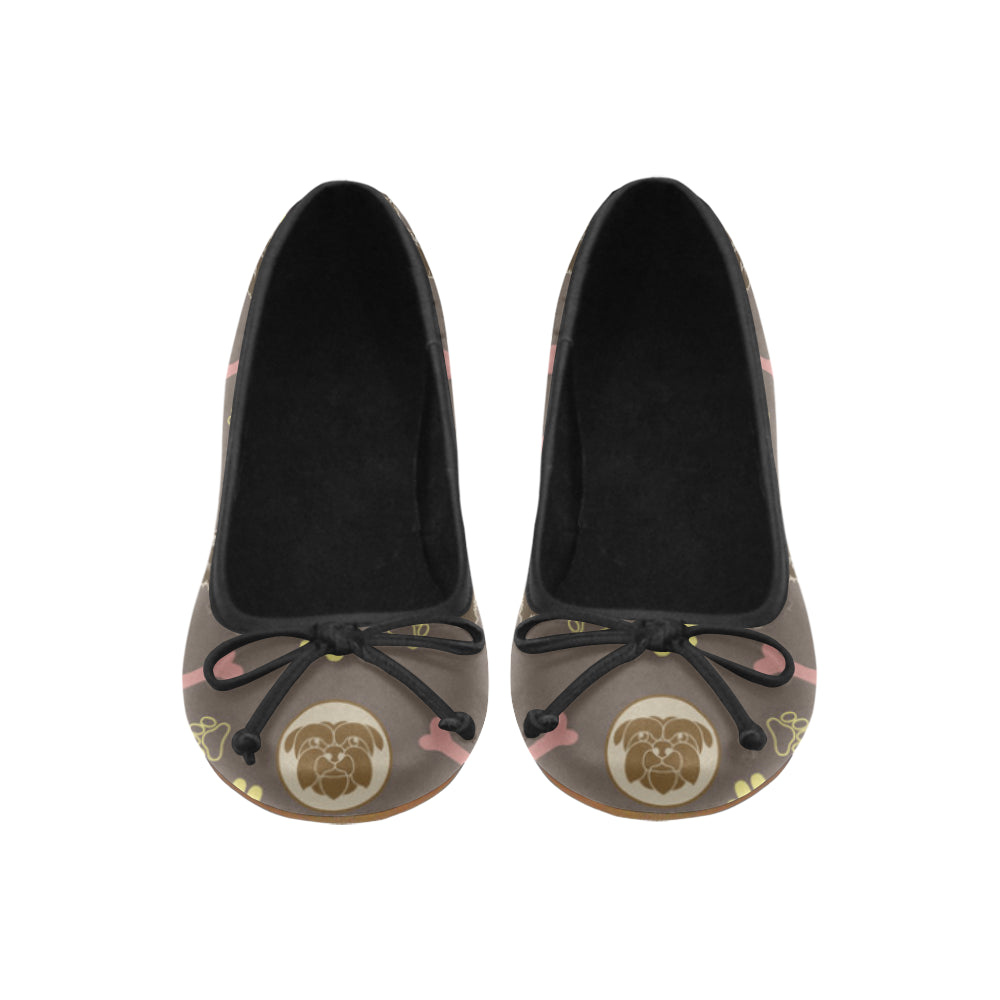 Affenpinschers Pattern Juno Ballet Pumps - TeeAmazing