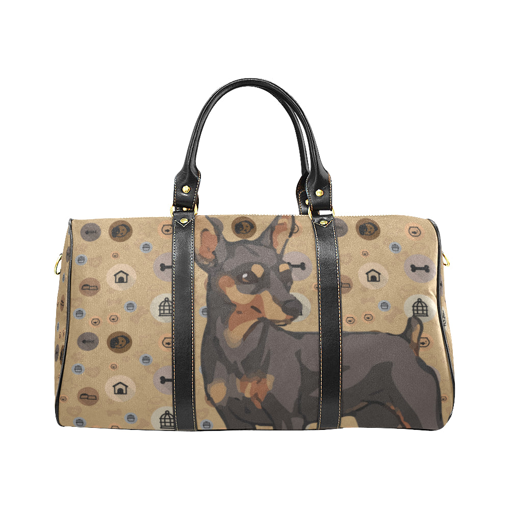 Miniature Pinscher Dog New Waterproof Travel Bag/Small - TeeAmazing