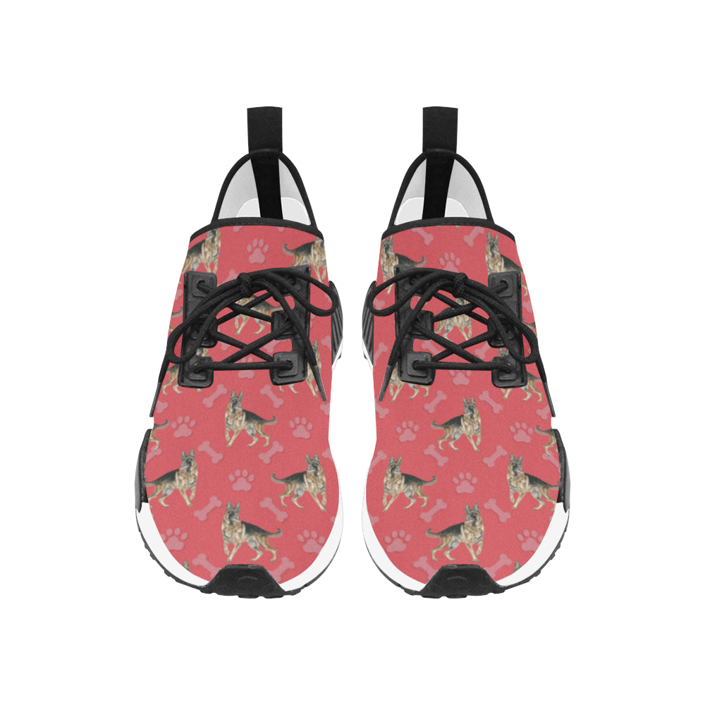 German Shepherd Water Colour Pattern No.1 Women's Draco Running Shoes - TeeAmazing