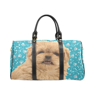 Peekapoo Dog New Waterproof Travel Bag/Large (Model 1639) - TeeAmazing