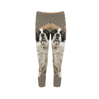 St. Bernard Dog Capri Legging (Model L02)