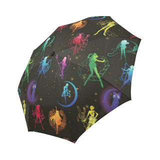 All Sailor Soldiers Auto-Foldable Umbrella - TeeAmazing