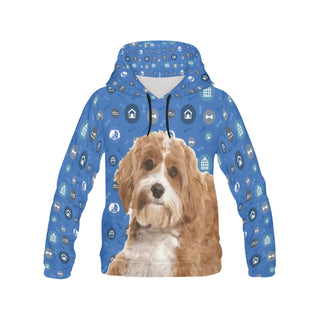 Cavapoo Dog All Over Print Hoodie for Men (USA Size) (Model H13) - TeeAmazing