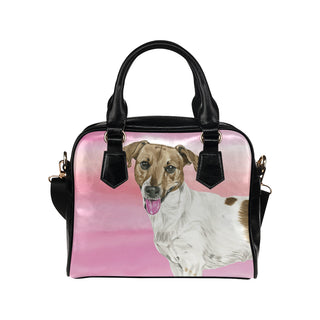 Jack Russell Terrier Water Colour No.1 Shoulder Handbag - TeeAmazing
