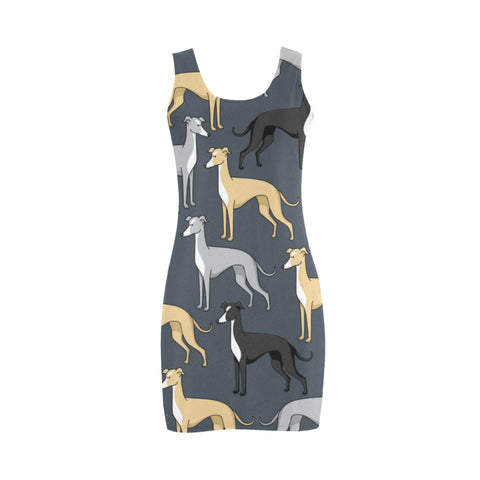 Greyhound Medea Vest Dress (Model D06) - TeeAmazing