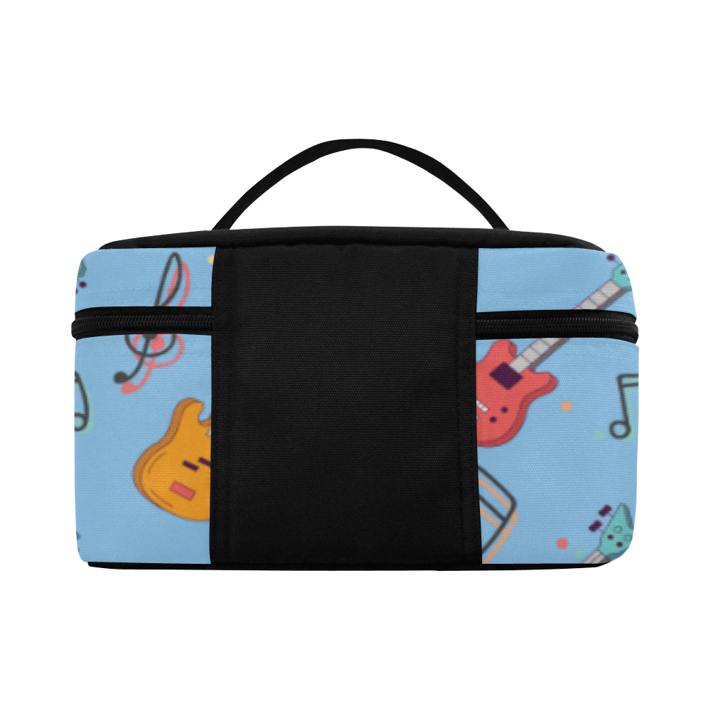 Bass Pattern Cosmetic Bag/Large - TeeAmazing