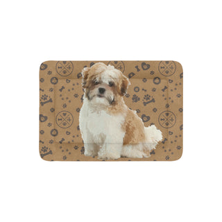 "Maltese Shih Tzu Dog Dog Beds 30""x21"" - TeeAmazing"