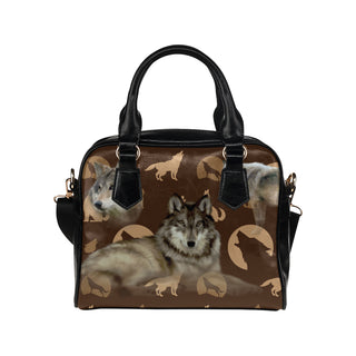 Wolf Lover Shoulder Handbag - TeeAmazing
