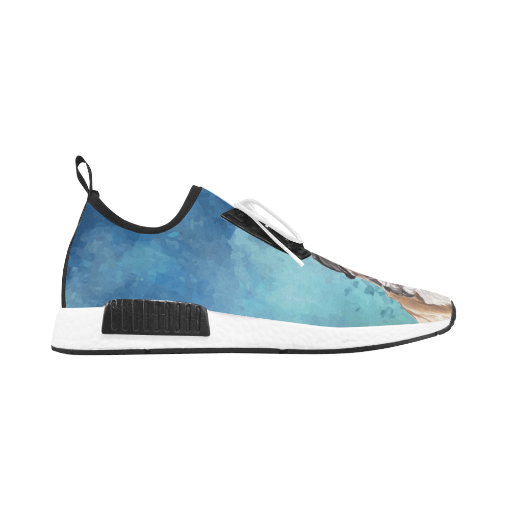 Boxer Water Colour Men's Draco Running Shoes - TeeAmazing