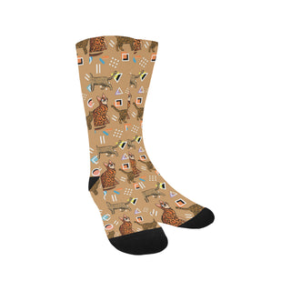 Bengal Cat Trouser Socks - TeeAmazing