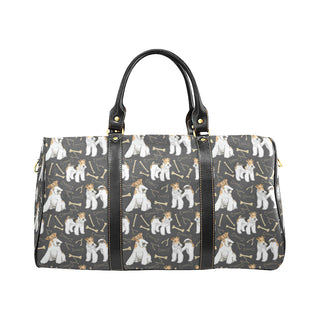 Wire Hair Fox Terrier New Waterproof Travel Bag/Small - TeeAmazing