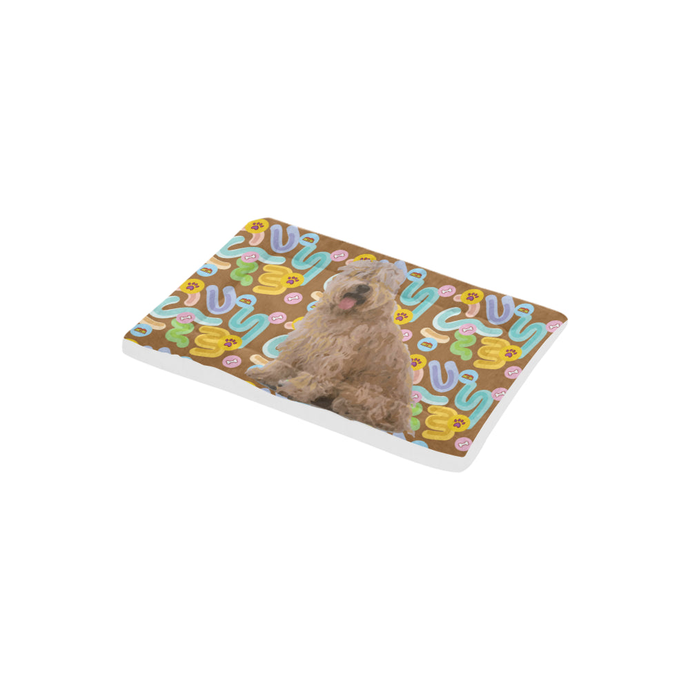 "Soft Coated Wheaten Terrier Dog Beds 22""x13"" - TeeAmazing"