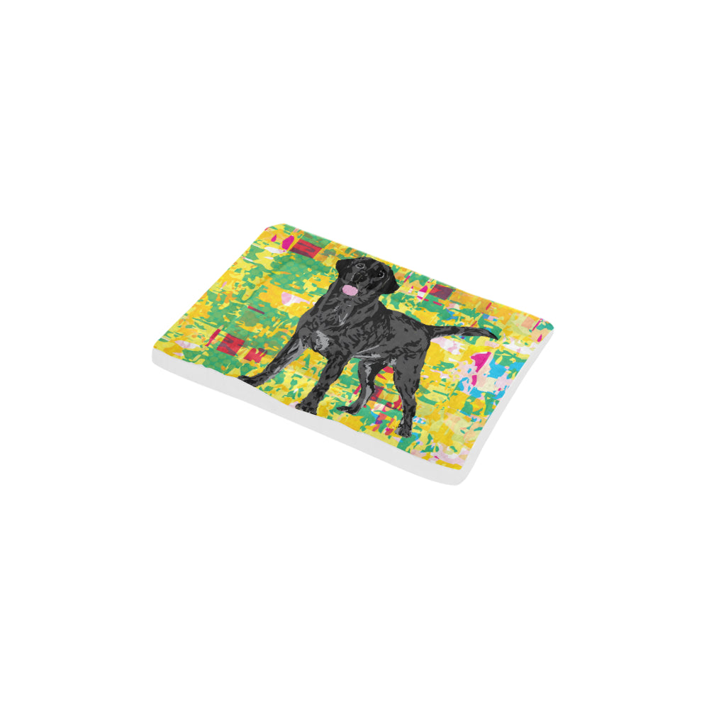 "Black Lab Dog Beds 18""x12"" - TeeAmazing"