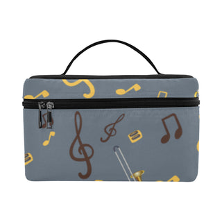 Trombone Pattern Cosmetic Bag/Large - TeeAmazing