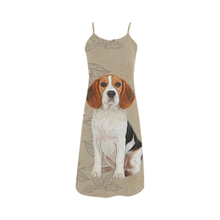 Beagle Lover Alcestis Slip Dress - TeeAmazing