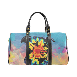 Pit Bull Pop Art No.2 New Waterproof Travel Bag/Small - TeeAmazing