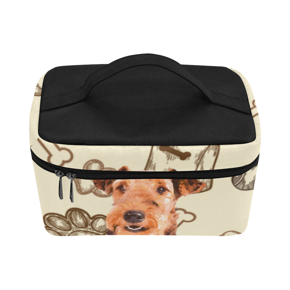 Airedale Terrier Cosmetic Bag/Large - TeeAmazing