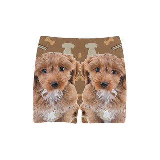Cockapoo Dog Briseis Skinny Shorts (Model L04) - TeeAmazing