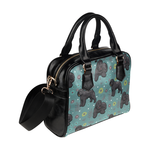 Bouviers Flower Shoulder Handbag - TeeAmazing