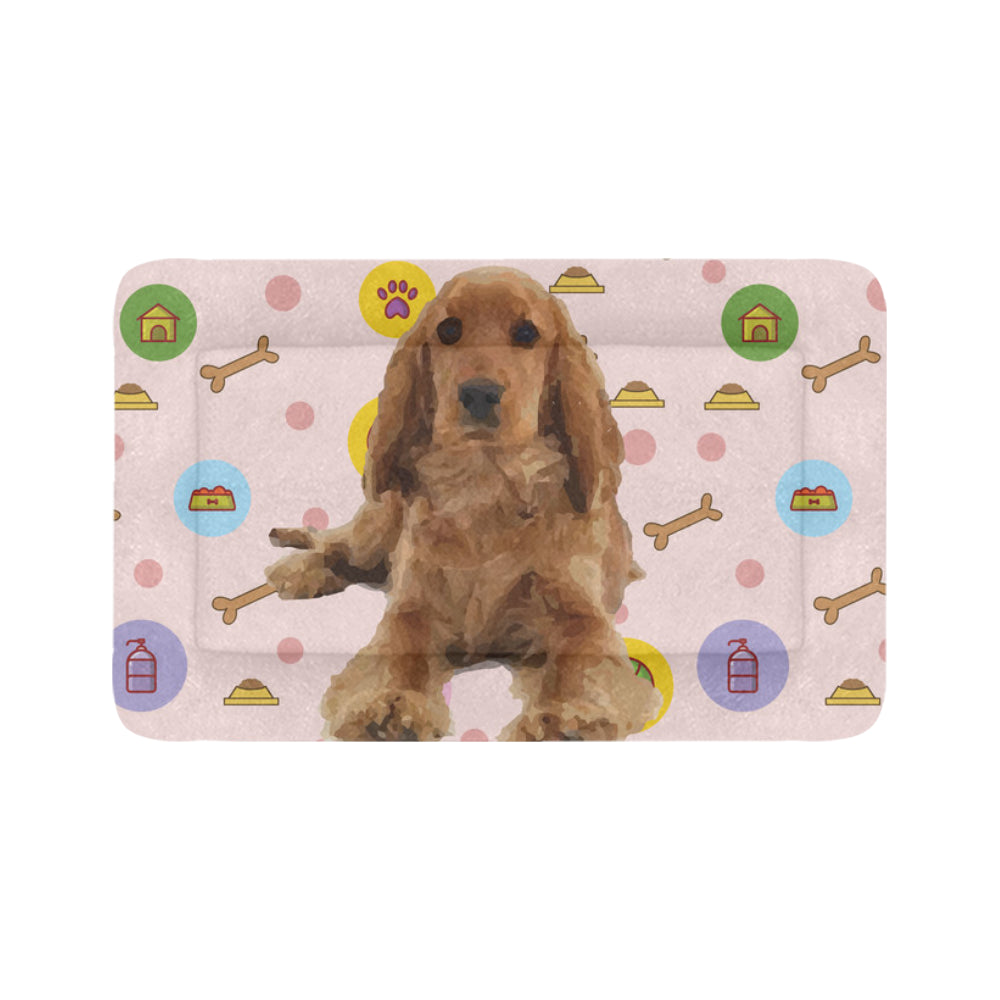 "English Cocker Spaniel Dog Beds 48""x30"" - TeeAmazing"