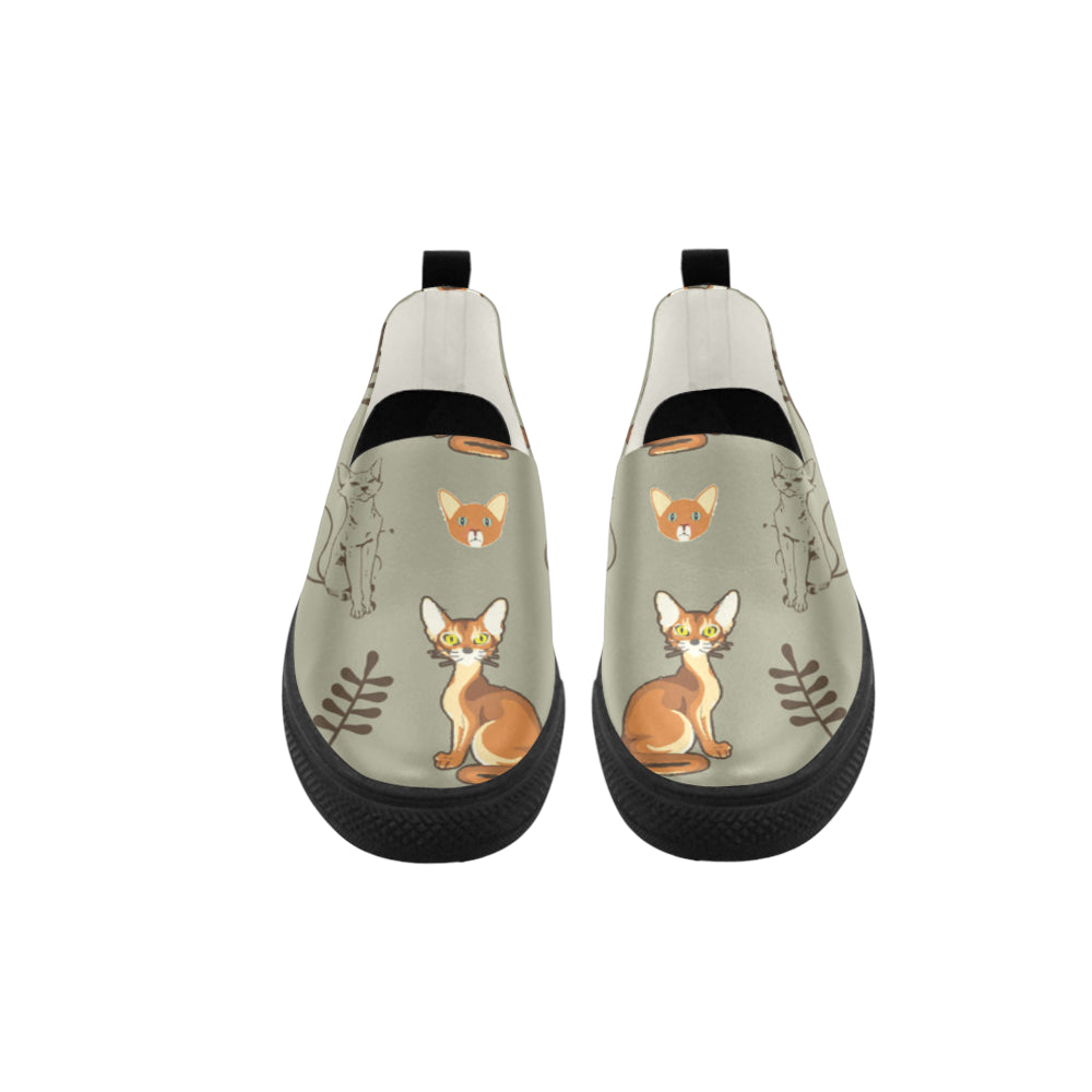 Abyssinian Apus Slip-on Microfiber Women's Shoes - TeeAmazing