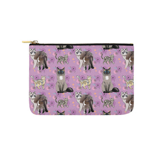 Balinese Cat Carry-All Pouch 9.5x6 - TeeAmazing