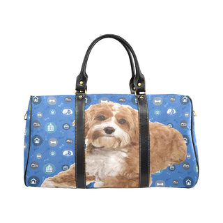 Cavapoo Dog New Waterproof Travel Bag/Large - TeeAmazing