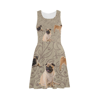 Pug Lover Atalanta Sundress - TeeAmazing