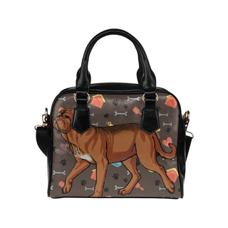 Dogues De Bordeaux Dog Shoulder Handbag - TeeAmazing