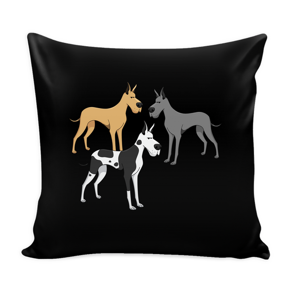 Great Dane Dog Pillow Cover - Great Dane Accessories - TeeAmazing - 2