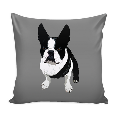 Boston Terrier Dog Pillow Cover - Boston Terrier Accessories - TeeAmazing