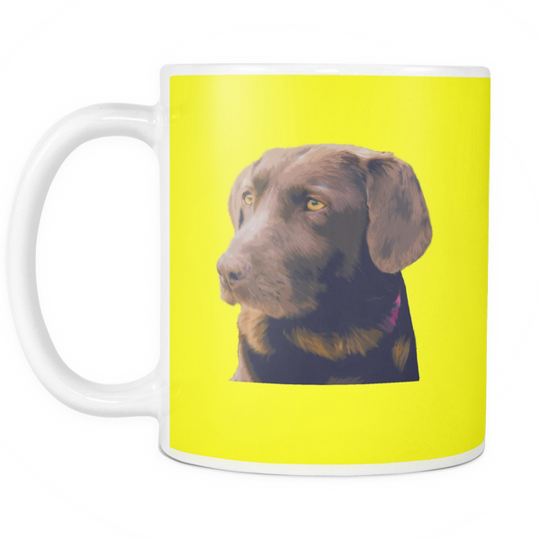 Labrador Retriever Dog Mugs & Coffee Cups - Labrador Retriever Coffee Mugs - TeeAmazing