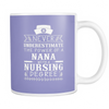 Never Underestimate Nana Nursing Mugs & Coffee Cups - Nana Coffee Mugs - TeeAmazing - 3