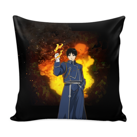 Roy Mustang Pillow Cover - Full Metal Alchemist Accessories - TeeAmazing