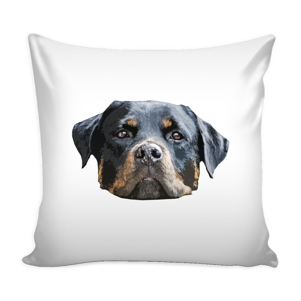 Rottweiler Dog Pillow Cover - Rottweiler Accessories - TeeAmazing - 2