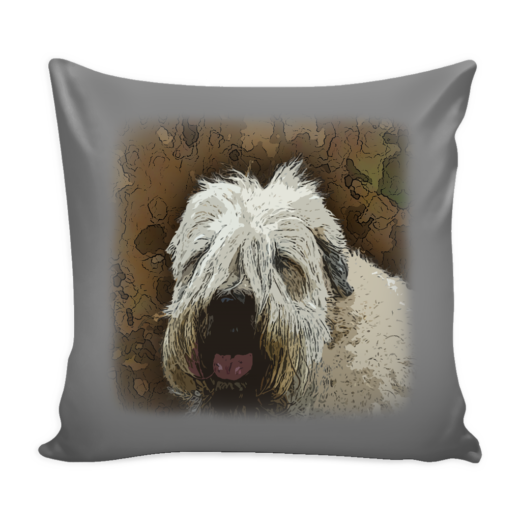 Soft Coated Wheaten Terrier Dog Pillow Cover - Soft Coated Wheaten Terrier Accessories - TeeAmazing