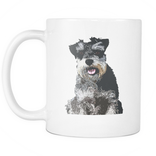 Miniature Schnauzer Dog Mugs & Coffee Cups - Miniature Schnauzer Coffee Mugs - TeeAmazing - 2