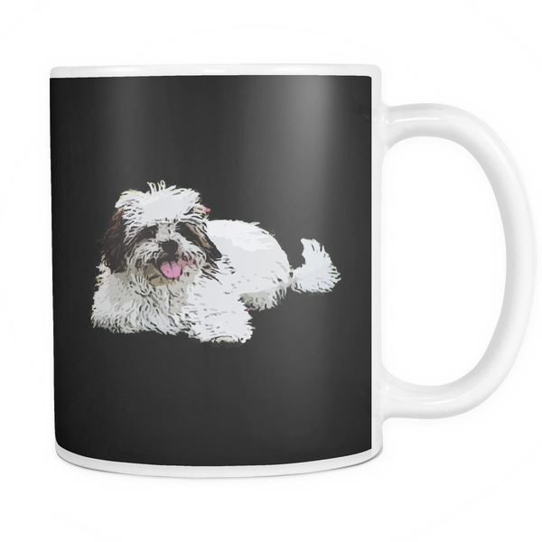 Lhasa Apso Dog Mugs & Coffee Cups - Lhasa Apso Coffee Mugs - TeeAmazing - 3