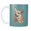 Pembroke Welsh Corgi Dog Mugs & Coffee Cups - Pembroke Welsh Corgi Coffee Mugs - TeeAmazing - 6