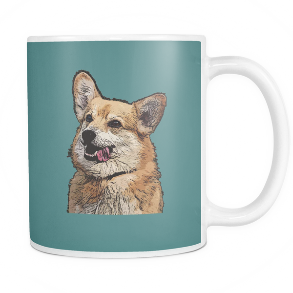 Pembroke Welsh Corgi Dog Mugs & Coffee Cups - Pembroke Welsh Corgi Coffee Mugs - TeeAmazing - 5