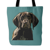 German Shorthaired Pointer Dog Tote Bags - German Shorthaired Pointer Bags - TeeAmazing - 3