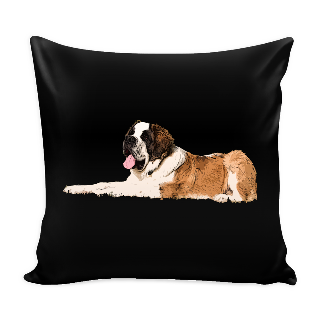 St. Bernard Dog Pillow Cover - St. Bernard Accessories - TeeAmazing - 1