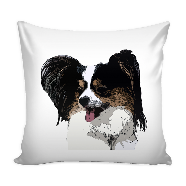 Papillon Dog Pillow Cover - Papillon Accessories - TeeAmazing - 1