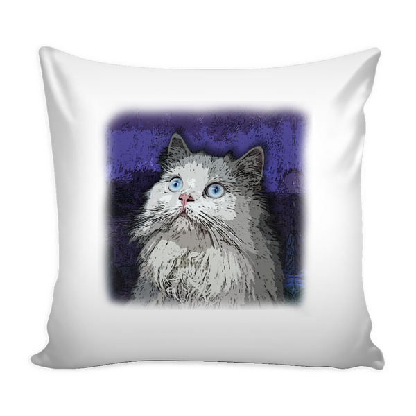 Persian Cat Pillow Cover - Persian Accessories - TeeAmazing - 1