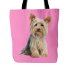 Yorkshire Terrier Dog Tote Bags - Yorkshire Terrier Bags - TeeAmazing - 4